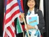 Jenny in Anaheim, USA for MDRT Convention from 10-12 June 2012